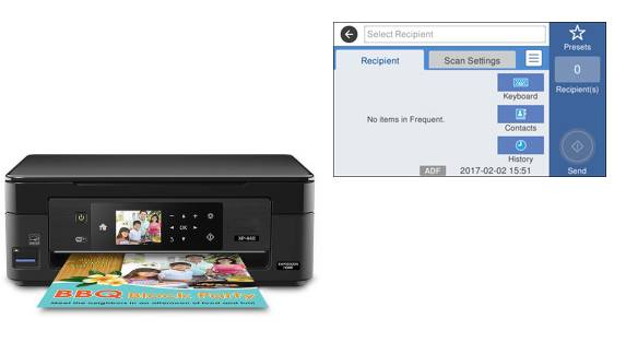 Epson XP-330 Setup Scan to Email