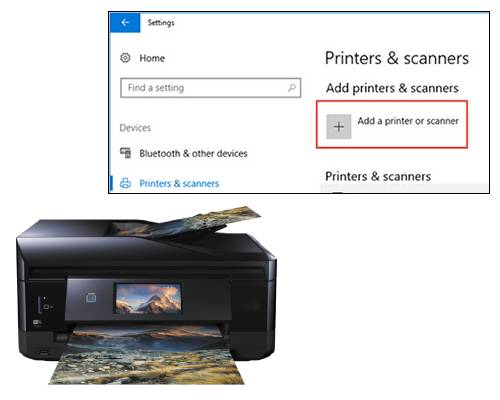 Scan from Epson Printer to Windows 10 Computer